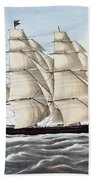 The Clipper Ship Flying Cloud Bath Towel