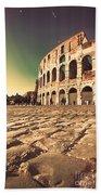 The Coliseum In Rome Bath Towel