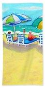 The Color Of Summer  Bath Towel