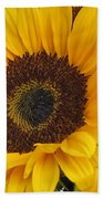 The Color Of Summer - Sunflower Bath Towel