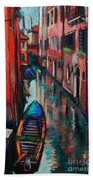 The Colors Of Venice Bath Towel