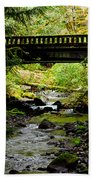 The Coming Of Autumn - Barnes Creek - Lake Crescent - Washington Bath Towel