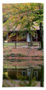 The Commissioners Cabin In Autumn Hand Towel