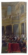 The Committee Of Lyon, 26th January 1802, 1808 Oil On Canvas Bath Towel