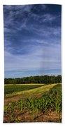 The Corn Fields Of Alabama Bath Towel
