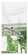 The Covered Bridge Bath Towel