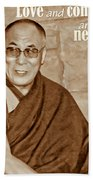The Dalai Lama Bath Towel