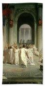The Death Of Caesar Bath Towel