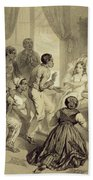The Death Of Evangeline, Plate 6 Hand Towel