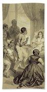 The Death Of Evangeline, Plate 6 Bath Towel