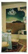 The Dining Room Of Princess Gourielli Bath Towel