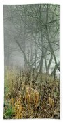 The Disappearing Man - Wolfscote Dale Bath Towel