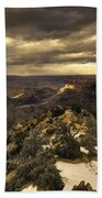 The Eastern Rim Of The Grand Canyon Bath Towel