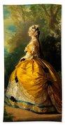 The Empress Eugenie Bath Towel