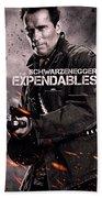 The Expendables 2 Schwarzenegger Bath Towel