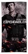 The Expendables 2 Stallone Bath Towel