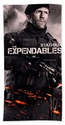 The Expendables 2 Statham Bath Towel