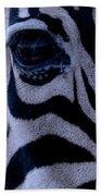 The Eye Of The Zebra Bath Towel