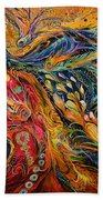 The Fire Dance Bath Towel