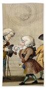 The First Approach, C.1790 Hand Towel