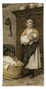 The Firstborn, 1875 Bath Towel