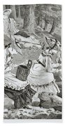 The Fishing Party Hand Towel