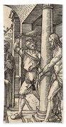 The Flagellation Bath Towel