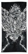 The Fly - Oil Portrait Bath Towel