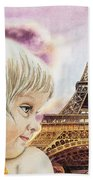 The French Girl Hand Towel