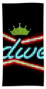 The Funky King Of Bud Hand Towel