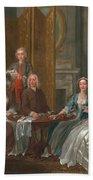 The Gascoigne Family, C.1740 Bath Towel