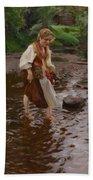 The Girl From Alvdalen Bath Towel
