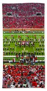 The Going Band From Raiderland Bath Towel by Mae Wertz