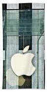 The Golden Apple Bath Towel