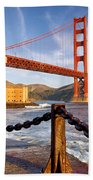 The Golden Gate Bath Towel