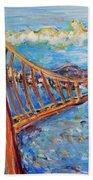 The Golden Gate Hand Towel
