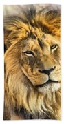 The Golden King 1 Bath Towel