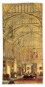 The Grand Hall, Biddington, Surrey Bath Towel