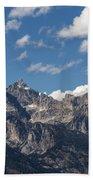 The Grand Tetons - Grand Teton National Park Wyoming Bath Towel