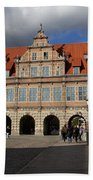 The Green Gate - Gdansk Bath Towel