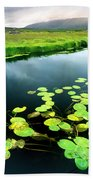 The Green Of Our Land Bath Towel