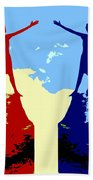 The Hand Of Friendship Hand Towel