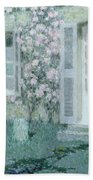 The House With Roses Bath Towel