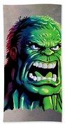 The Hulk Bath Towel