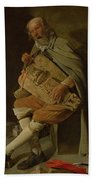 The Hurdy Gurdy Player Hand Towel