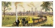 The Industrial Revolution Bath Towel