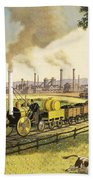 The Industrial Revolution Bath Towel