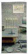 The Interior Design Of A Gray Living Room Bath Towel