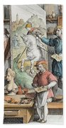 The Invention Of Oil Paint, Plate 15 Hand Towel