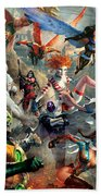 The Invincibles Hand Towel by Ryan Barger